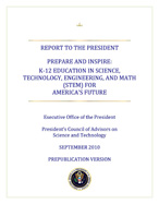 PCAST STEM Education Report