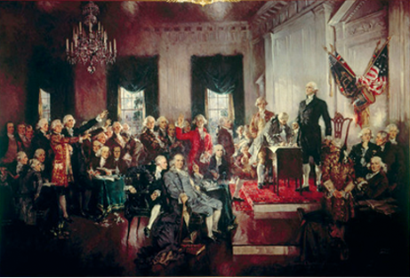 The Signing of the U.S. Constitution