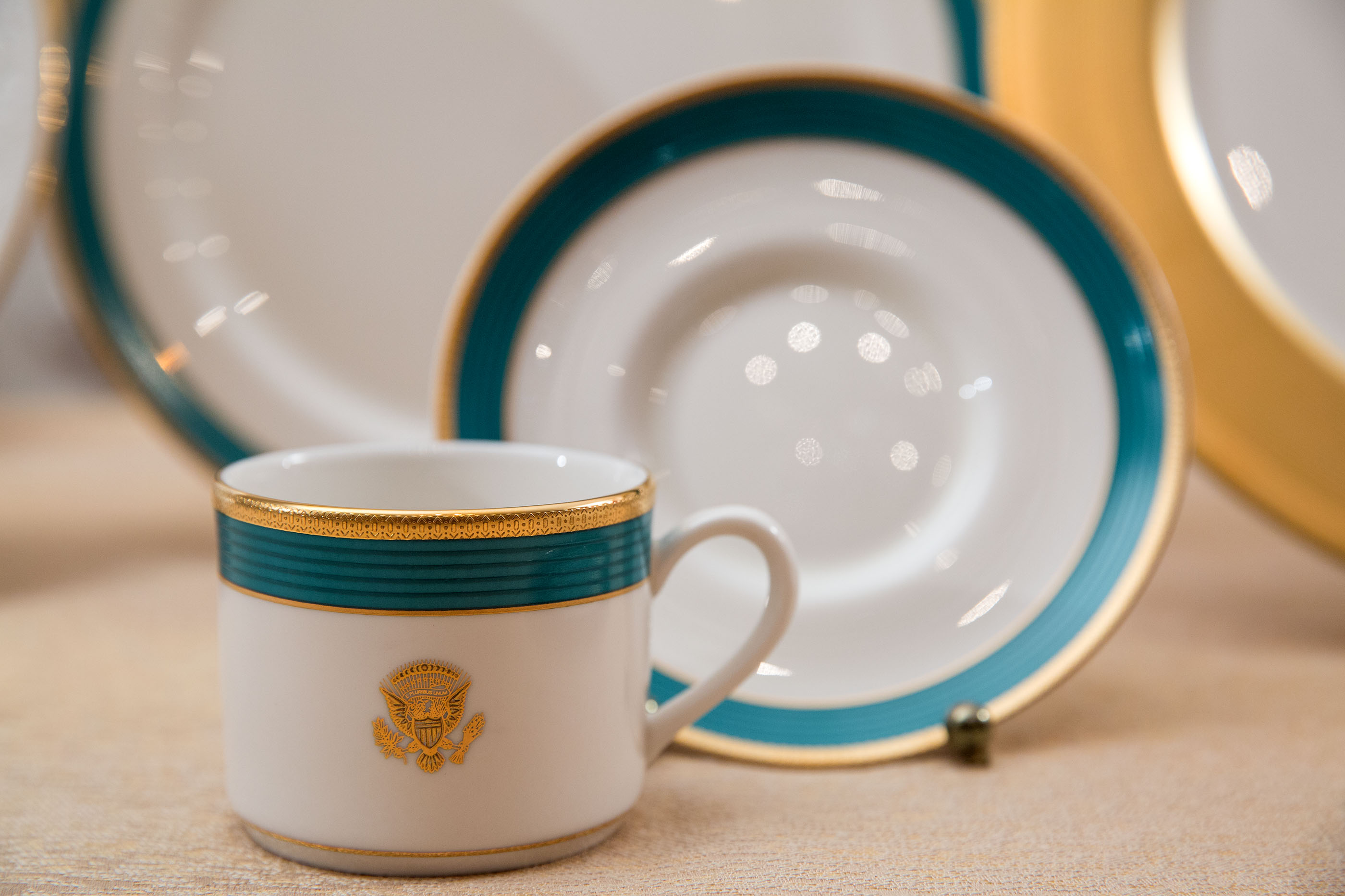 White House China Room Patterns