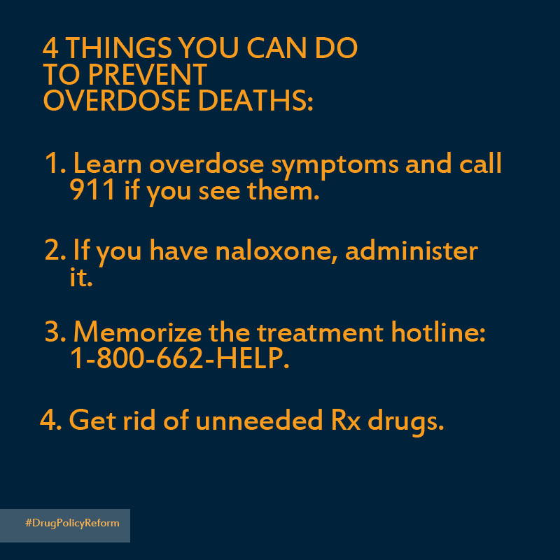 Preventing opioid overdose deaths