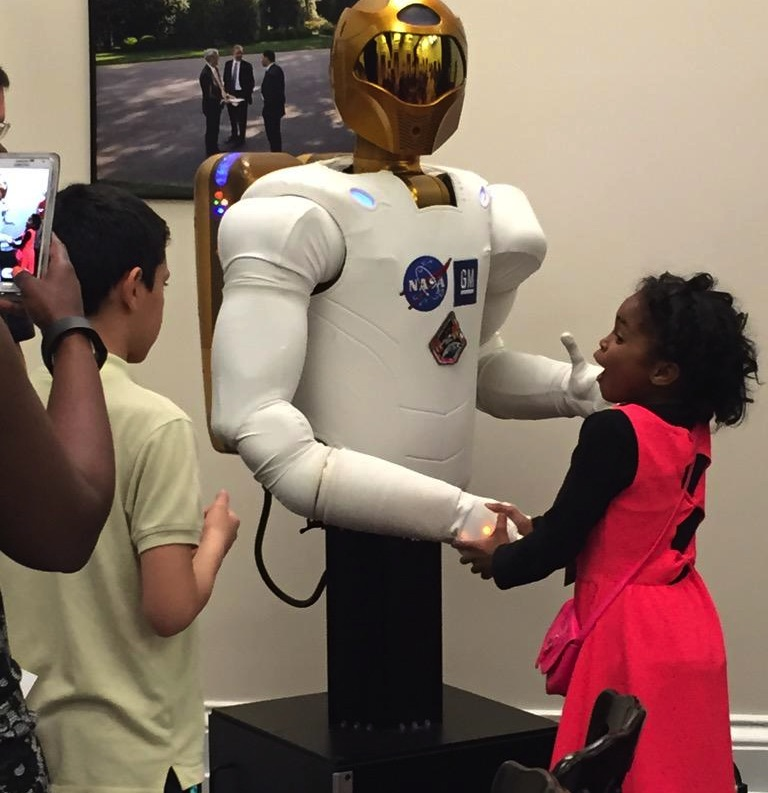 NASA's RoboNaut (Photo Credit: Barry Cordero)