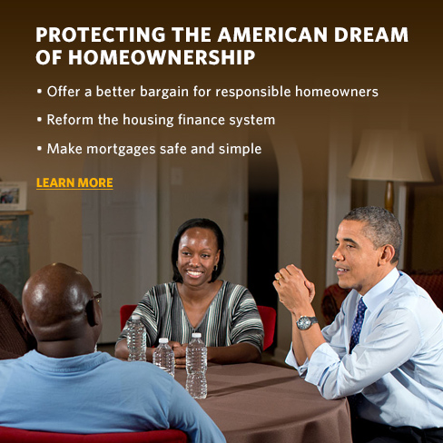 Protecting the American Dream of homeownership