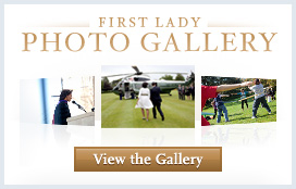 First Lady Photo Gallery