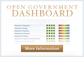 More Information about the Open Government Dashboard