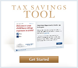 Recovery Act Tax Savings Tool