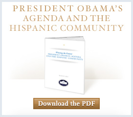 Download President Obama's Agenda and the Hispanic Community