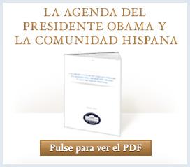 President Obama's Agenda and the Hispanic Community