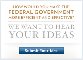 Submit Your Ideas for Government Reform