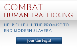 Combat Human Trafficking: Join the Fight