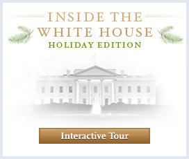 Interactive Tour of the Holiday Decorations in the White House