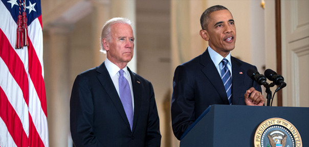 President Obama and Vice President Biden deliver remarks on the Iran Deal