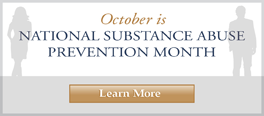 October is National Substance Abuse Month