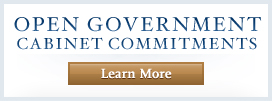 Learn More about Open Government Cabinet Commitments