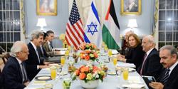 Middle East peace negotiators