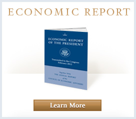Economic Report to the Preisdent