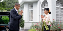 President Obama in Burma
