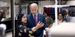 Vice President Biden in India