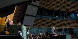 President Obama at the UN