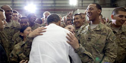 President Obama in Afghanistan