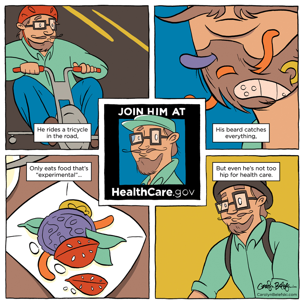 ACA Comic: Hipster