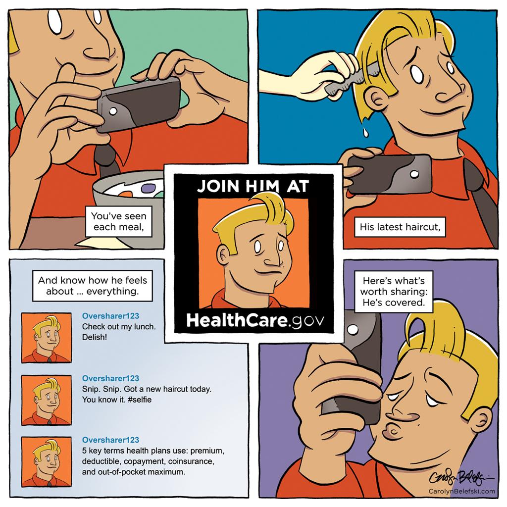ACA Comic: Oversharer
