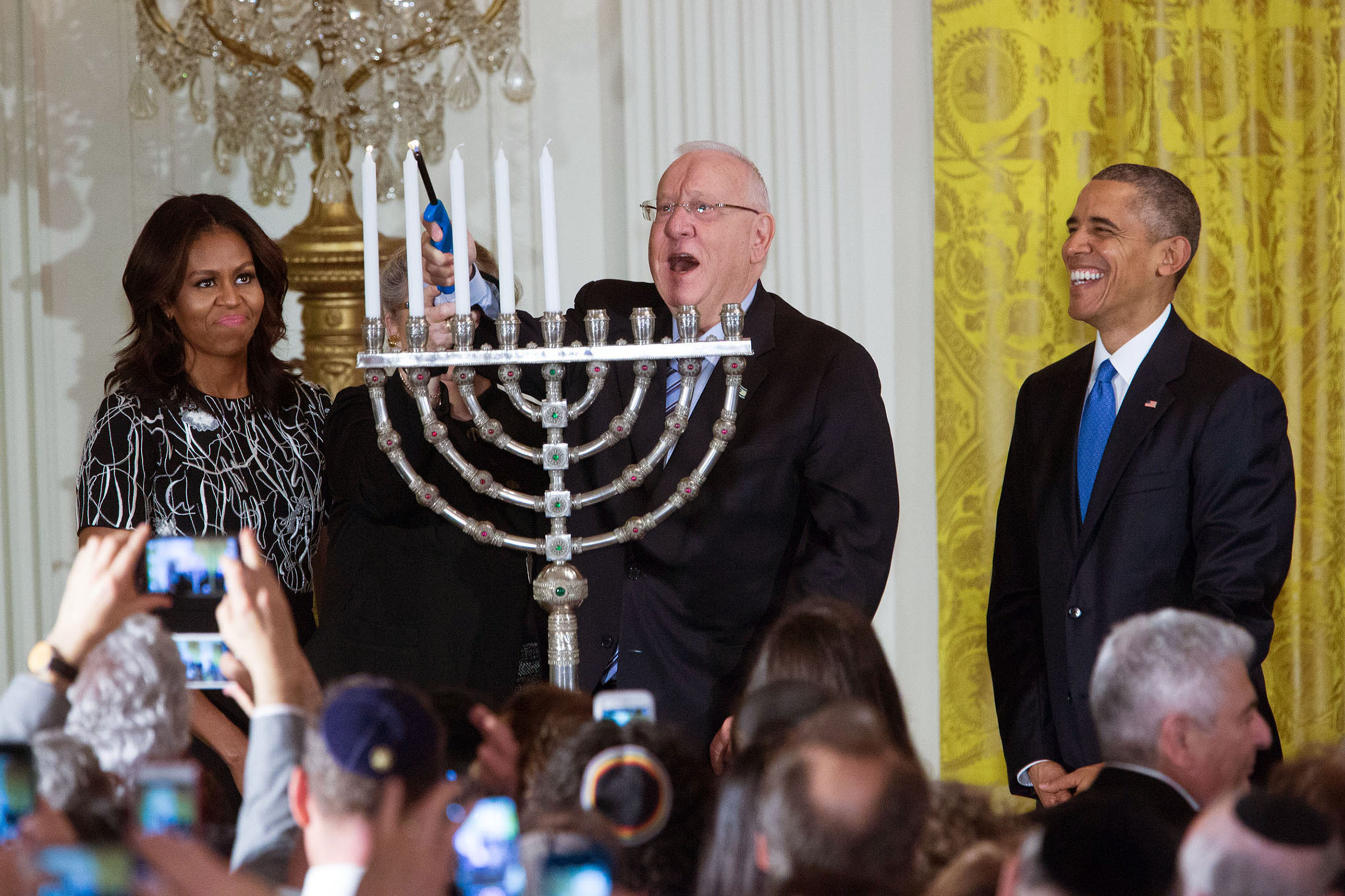 Image result for white house menorah