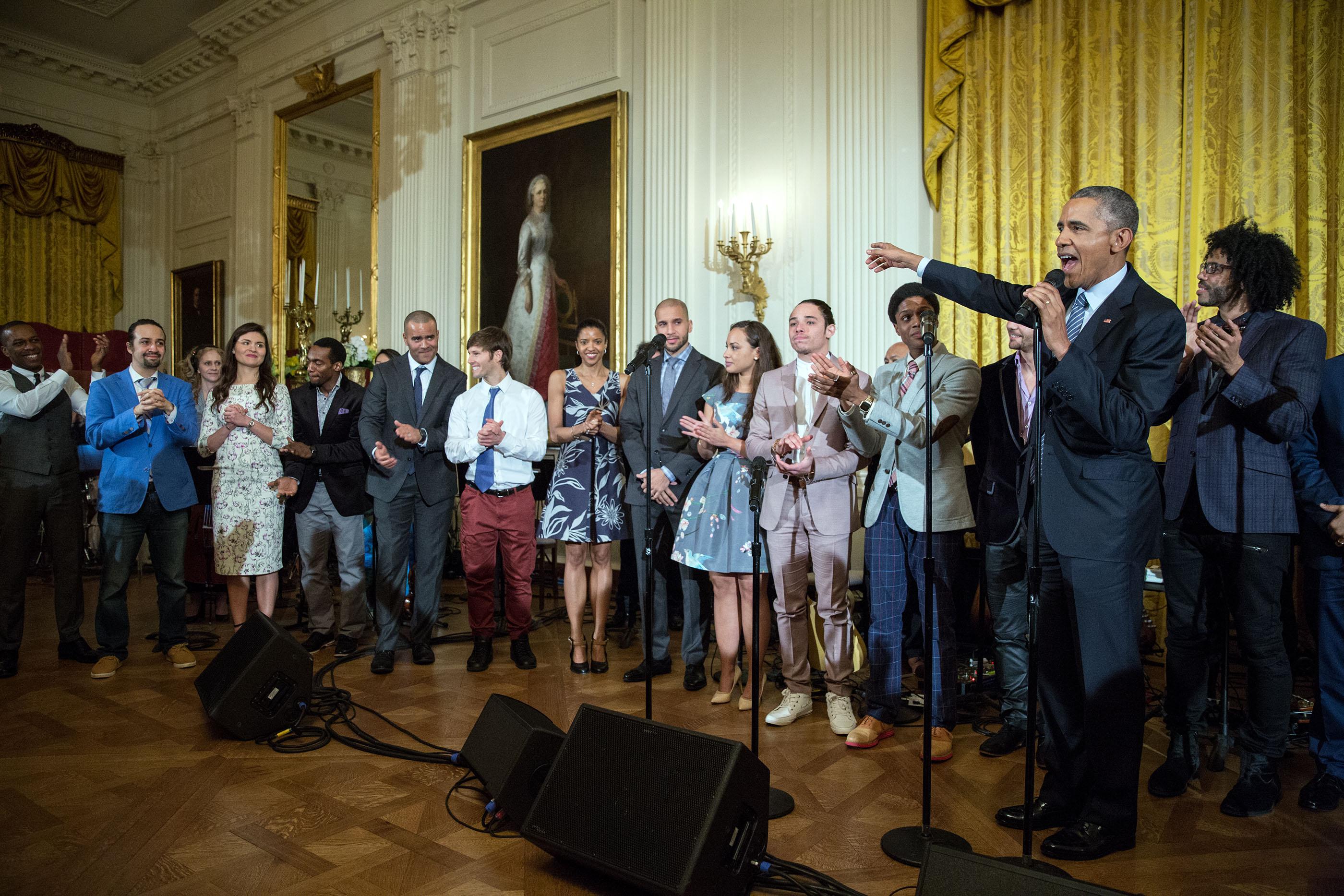 bam4ham: hamilton at the white house | whitehouse.gov