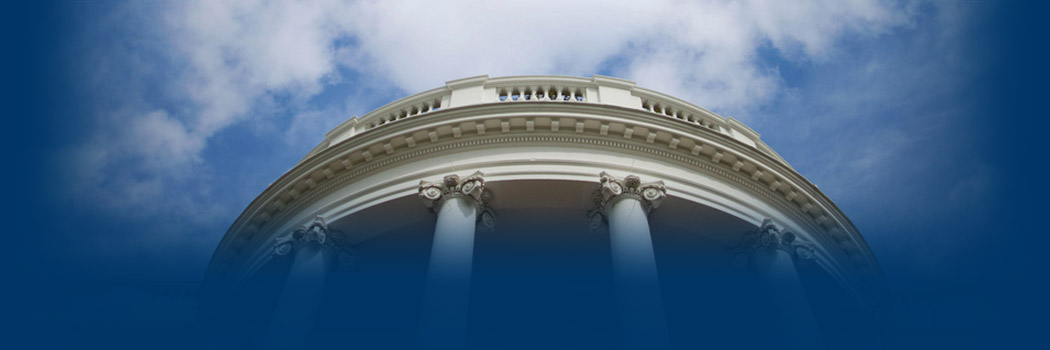 Image of the South Portico of the White House