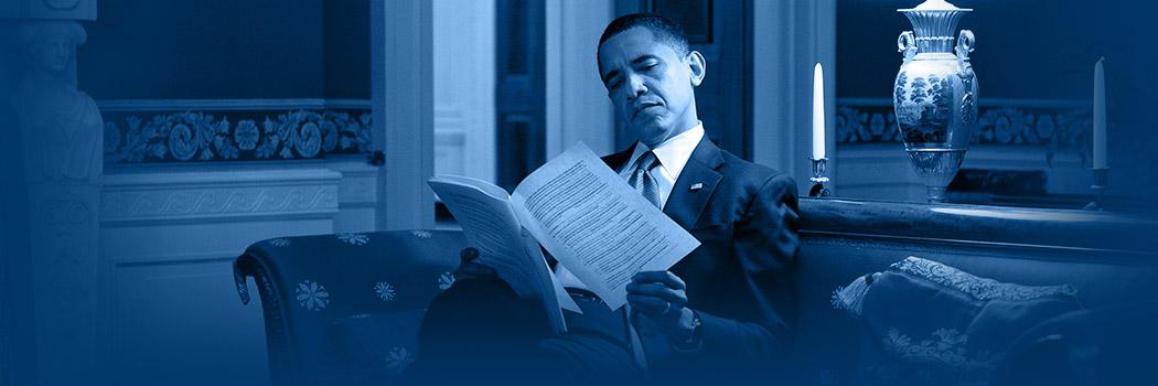President Obama Reads