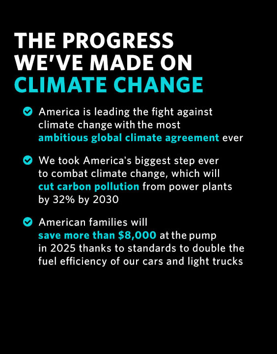 The Progress We've Made on Climate Change