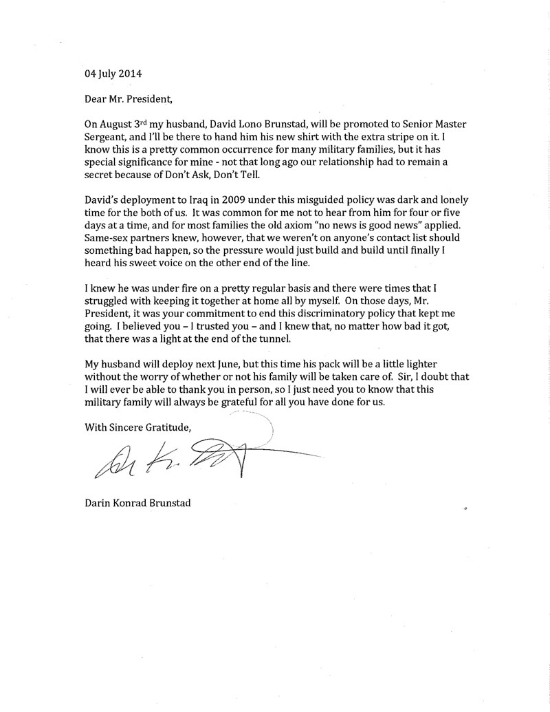 July 4, 2014 Terry Mcmahon On Twitter: A Letter To
