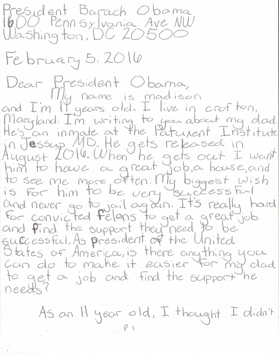Letter Of Recommendation For Father To See Daughter