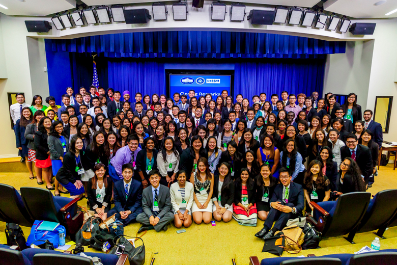 Participants at the Fifth White House AAPI Youth Forum on July 9, 2015. (Photo by WHIAAPI staff)