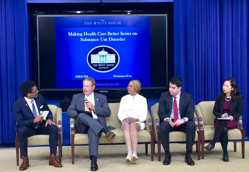 "White House hosts final ""Making Health Care Better Series"" on substance use disorder"
