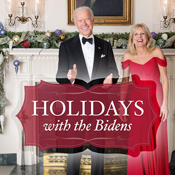 Holidays with the Bidens