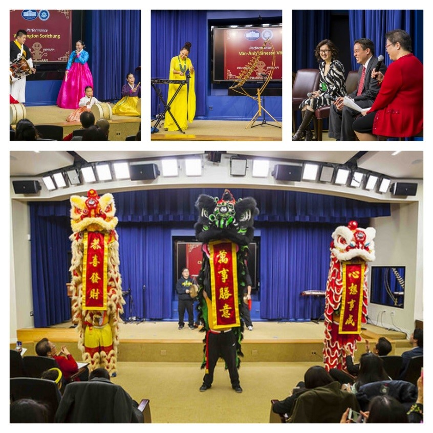 The White House hosts its 2016 Celebration of the Lunar New Year