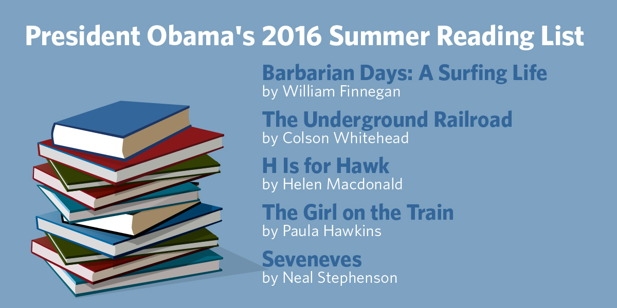 President Obama's summer reading list