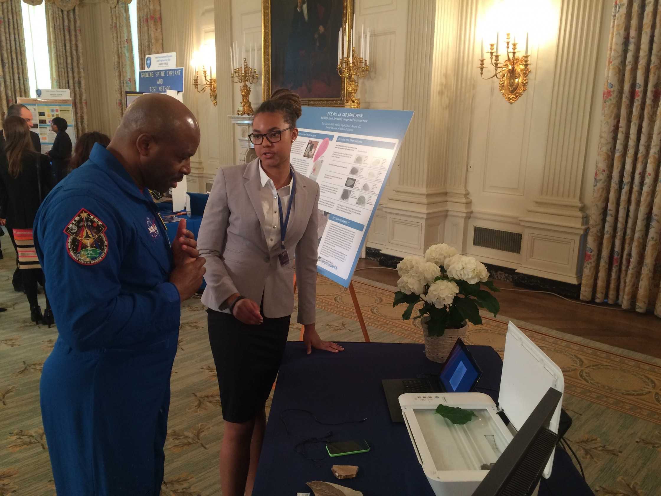 Citizen Science at the 2015 White House Science Fair