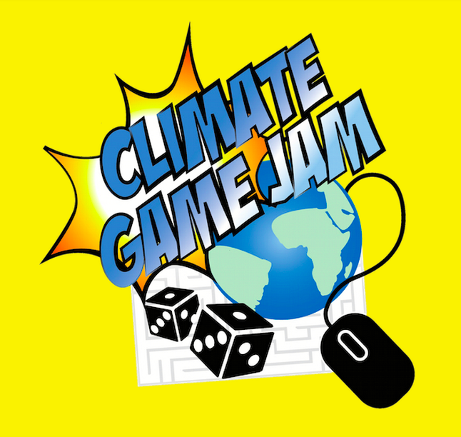 National Climate Game Jam logo.