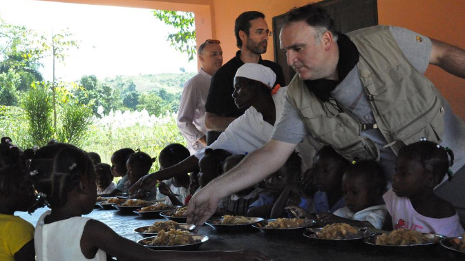 Jose Andres in Haiti