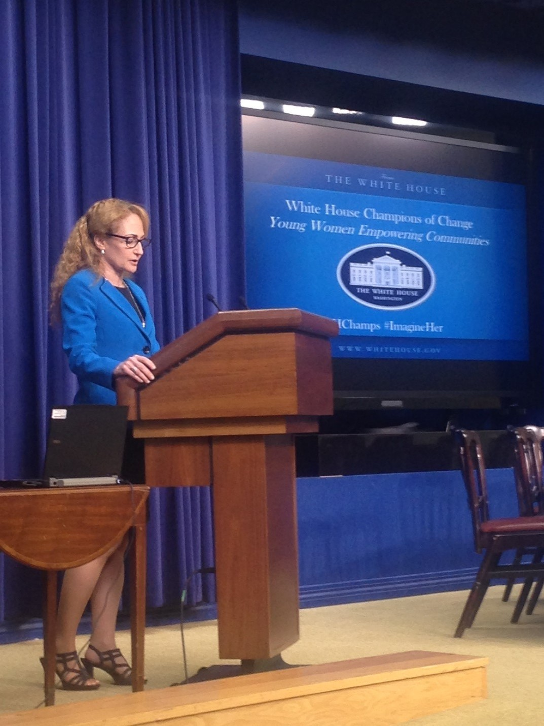 "OSTP's Jo Handelsman speaks at ""White House Champions of Change: Young Women Empowering Communities"""