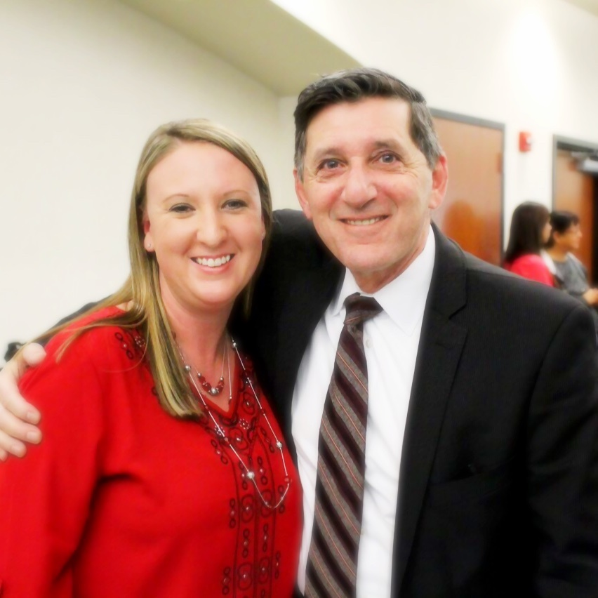 Kelly Mounce with Director Botticelli
