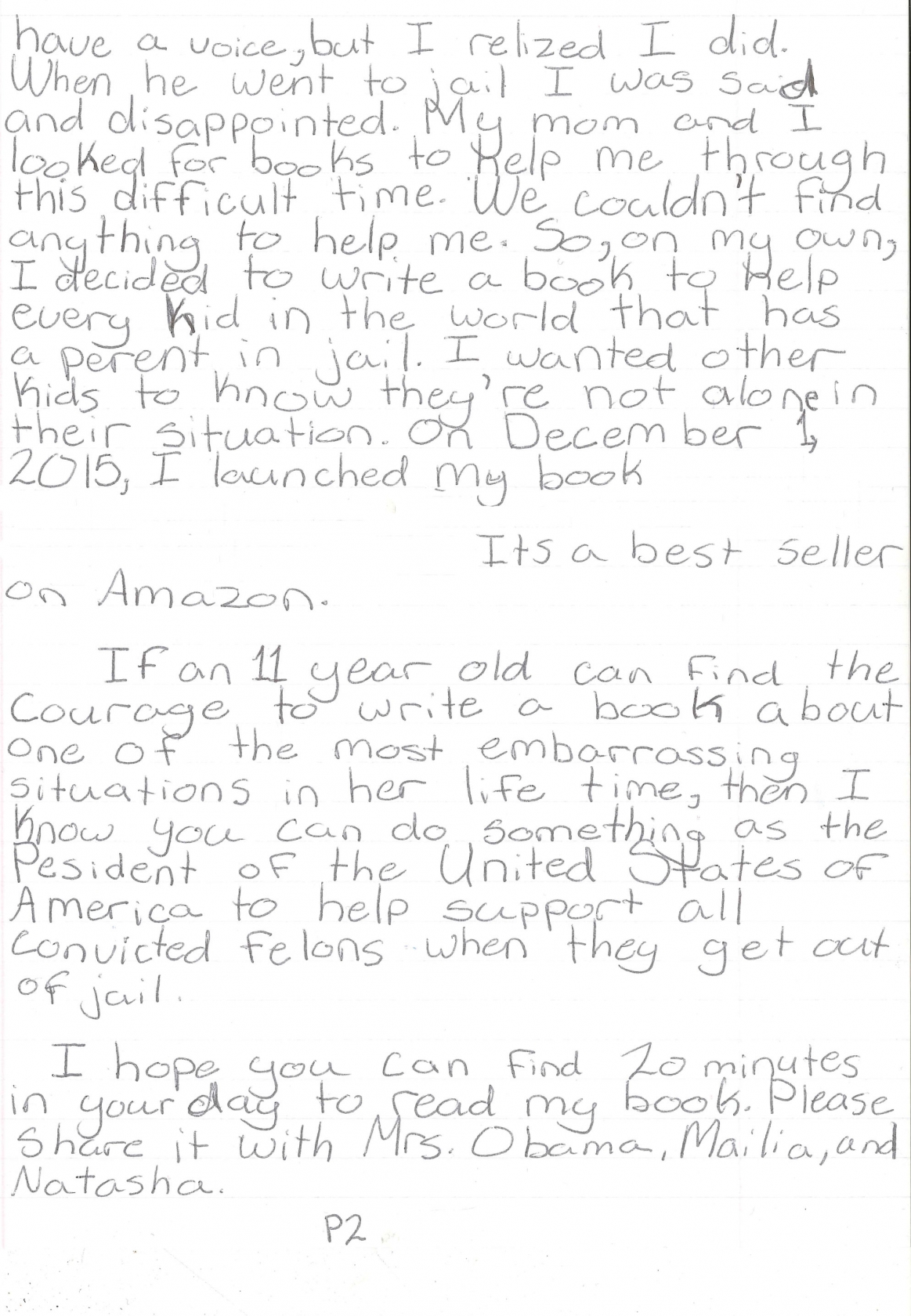 page 2 of madisons letter to president obama