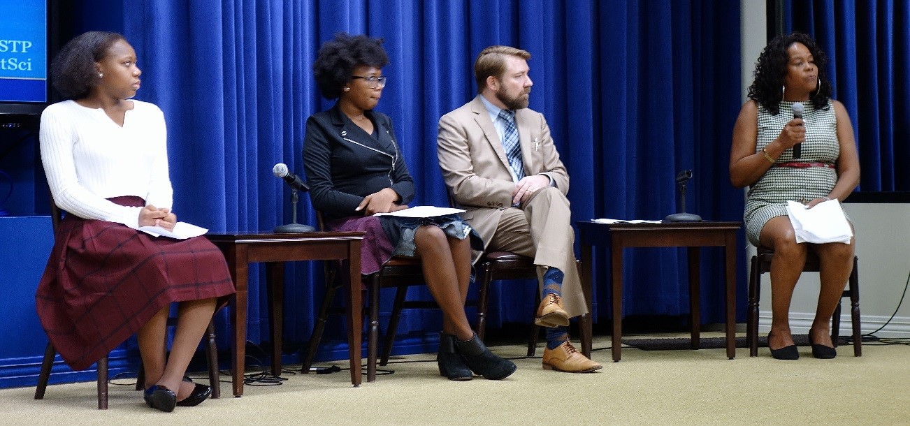 A panel at the White House Citizen Science Forum.