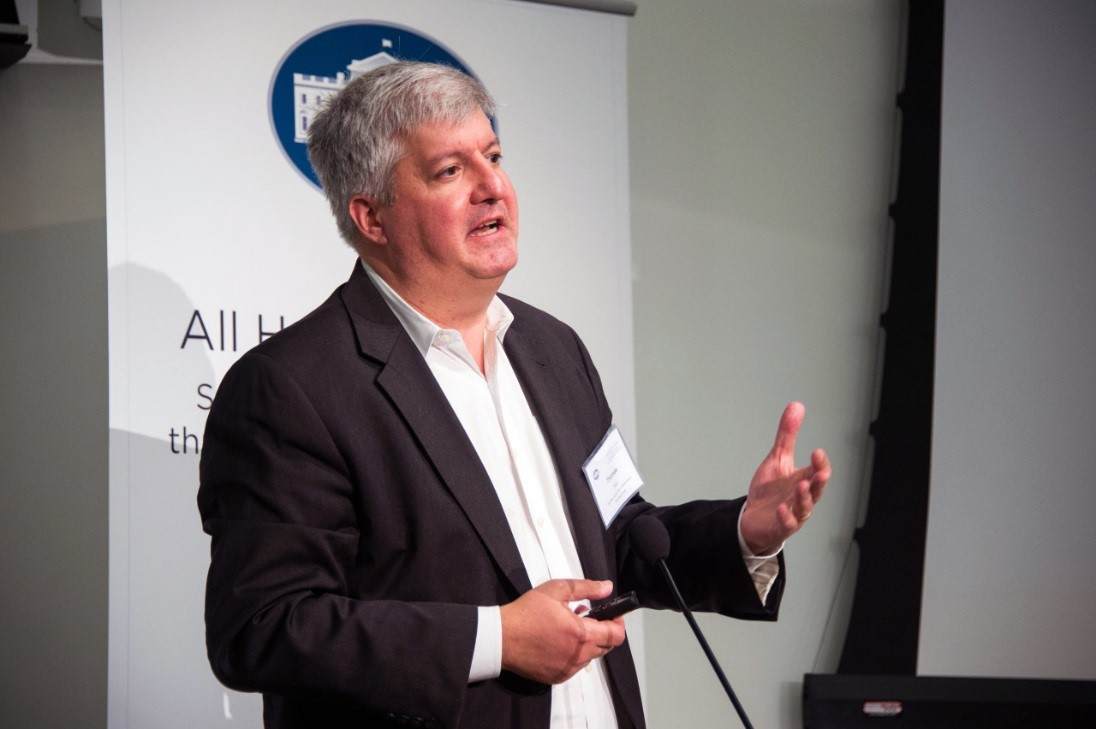OSTP's Tom Kalil speaks at an event celebrating the use of challenges for societal benefit.