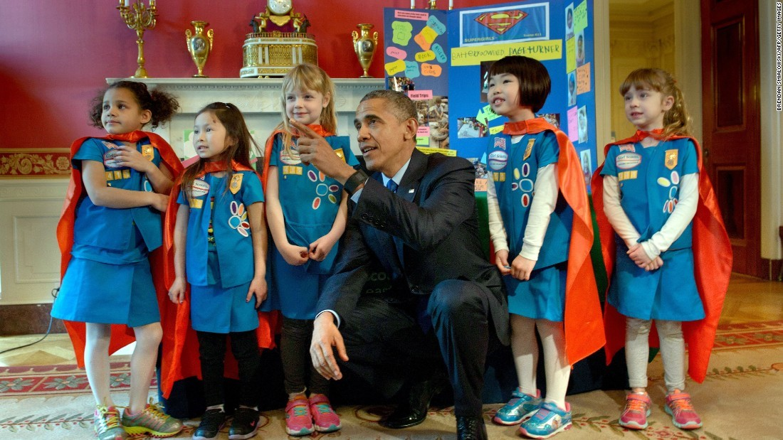 Obama 2015 White House Science Fair