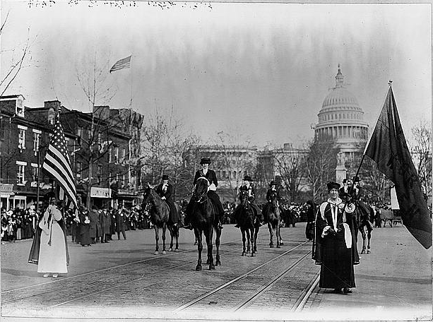 Image result for 1913 suffrage parade