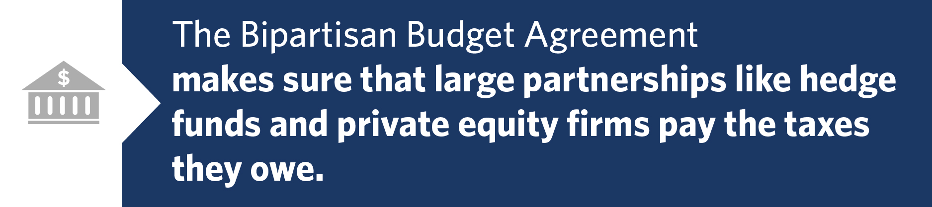 Bipartisan Budget Agreement Hedge Funds Pay Taxes