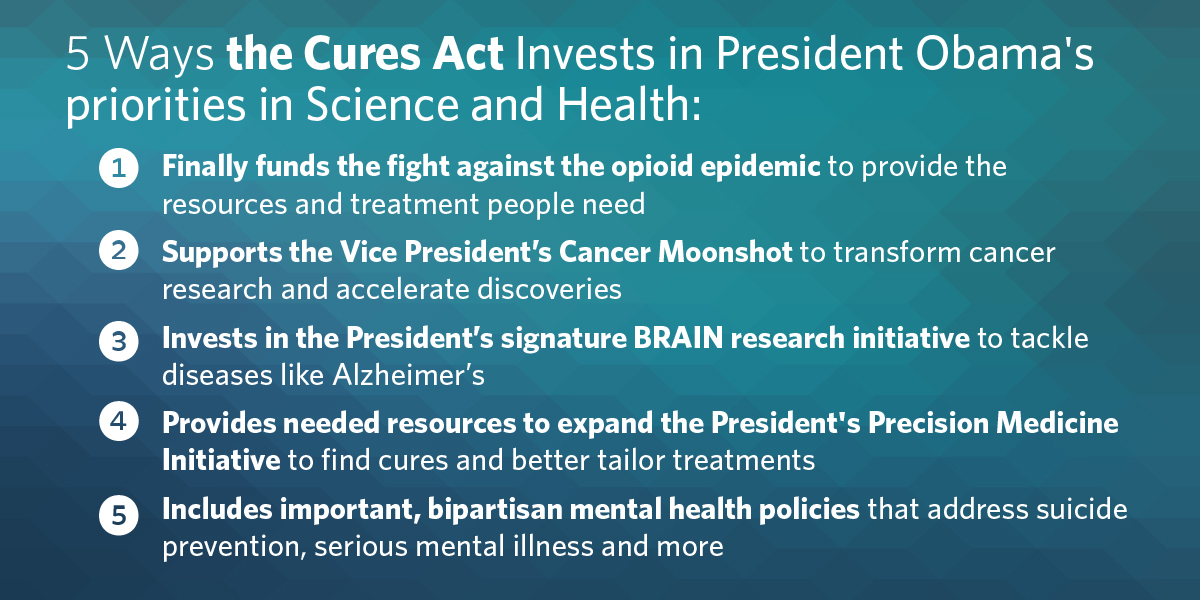 Cures Act investments