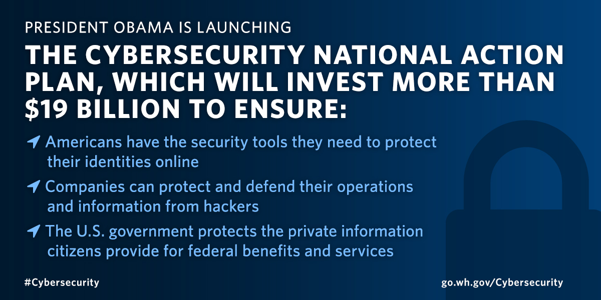 The President S National Cybersecurity Plan What You Need To Know
